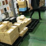 EC物流発送代行2015.1月の出荷梱包個数44,615個